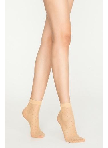 Penti Ant Soket Çorap Ten